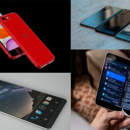 Les nouveaux smartphones de 2021